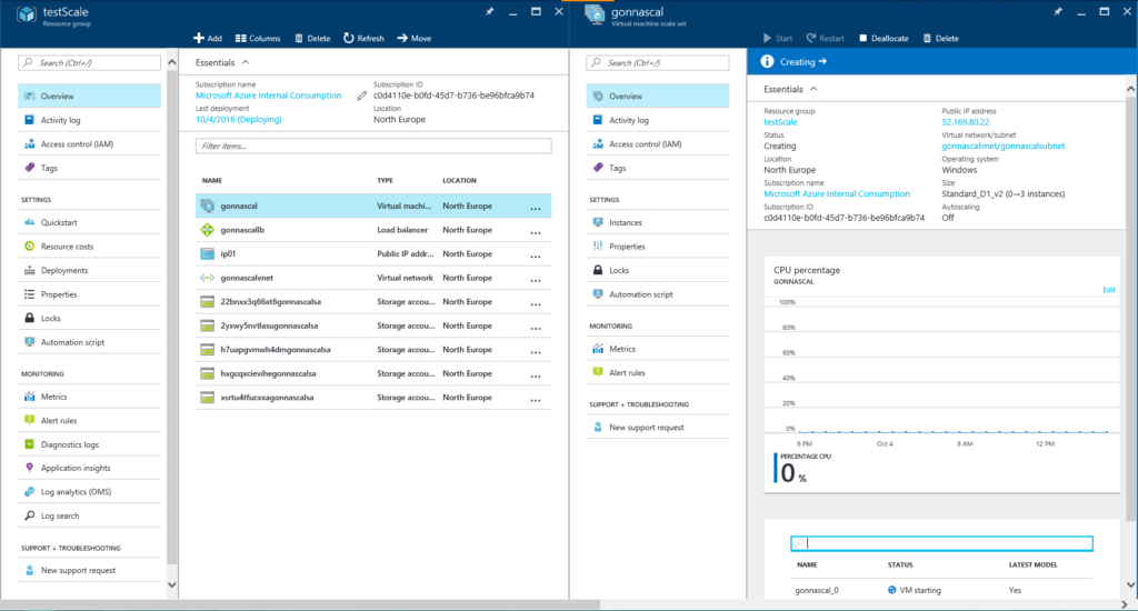 Adding Auto Scaling to an existing Azure Virtual Machine